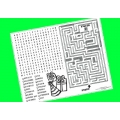 Green Activity Placemats