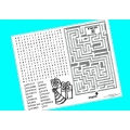 Turquoise Activity Placemats