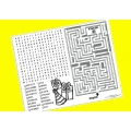 Yellow Activity Placemats