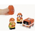 Firefighter / Fireman Bath Squirters (6)  - out of stock