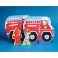 Firefighter / Fireman Fire Engine Party Table centrepiece