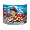 Firetruck Photo Prop HUGE