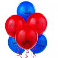 Firefighter / Fireman /  Fire Engine / Police Party Balloons Latex (6 pack)