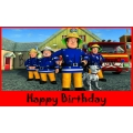 Firefighter / Fireman /  Fire Engine Bubble Bottle -Fireman Sam