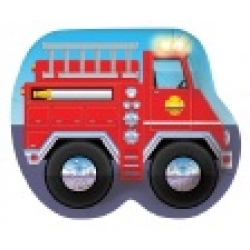 Firefighter / Fireman Fire Engine Large Party Plates (8)