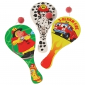 Firefighter / Fireman Fire Engine Party Paddle Ball (1) various designs