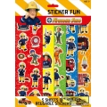 Fireman Sam, Firefighter / Fireman Fire Engine Sticker Fun