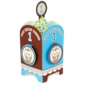 Owl turning 1 Blue Centrepiece ~ Back In Stock