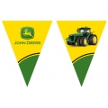 "John Deere Party Flag Banner nearly 3 metres long (5'8"")"