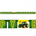 John Deere Party Jointed Banner 3 metres