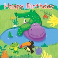 Jungle Buddies Party Napkins (16)