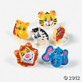 Zoo / Jungle / Safari Party Cupcake Rings ~ 12 pack