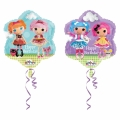 Lalaloopsy Flower Foil Balloon 45cm (18in)