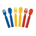 Lego Cutlery 2 pack (red, blue or yellow)