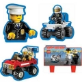 Lego Cake decorations pack of 4