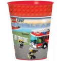 Lego Block Cup 16oz Large Plastic Cup (1)