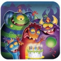 Monster Mania Party Plates