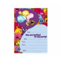 Mr Men and Little Miss Party Invites