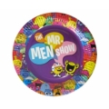 Mr Men and Little Miss Party Plates