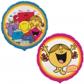 "Mr Men and Little Miss Foil 18"" Balloon"