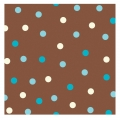 Aqua Dots Beverage Napkin ~ Orders Taken