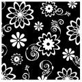 Cosmic Flowers Beverage Napkin ~ Orders Taken