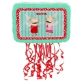 Olivia Pig Pinata - pull string suitable for all ages 45cm - Pre Order