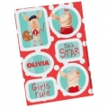 Olivia Pig Party Sticker Sheets