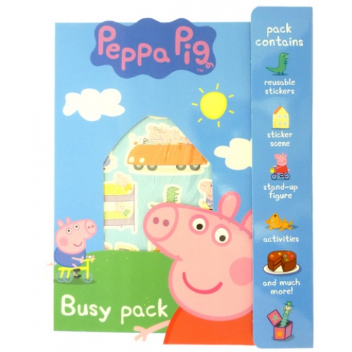 Peppa pig busy pack 1 search bubbles and rainbows for Missile peppa pig