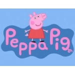 "Peppa Pig Party ""It's my birthday"" Round rubber badge ~ Limited Stock"