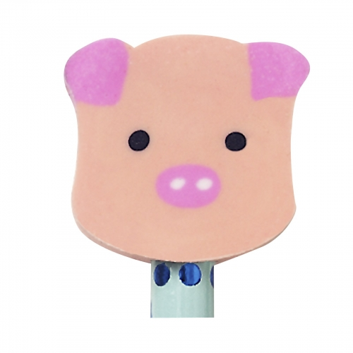 Pig eraser toppers 1 kelly bubbles and rainbows party for Missile peppa pig