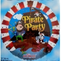 Pirate Party Foil Balloon