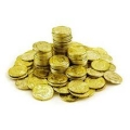 Pirate Gold Coins for Loot or Pinata etc (25 pack)