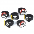 Pirate Party Rubber Rings ~ Pack 6