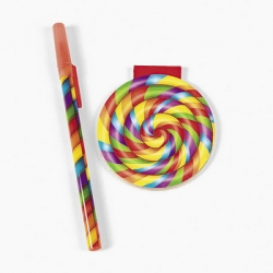 Rainbow Pad and Pen Set (1 set)