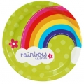 Rainbow Wishes plates dinner (8)