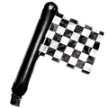 Racing Checkered Foil Balloon