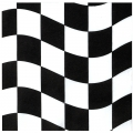 Racing Checkered Napkin (16)