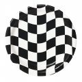 Racing Checkered Plates Dinner