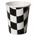Racing Checkered Cups