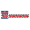 Racing Car Checkered Winners Circle Party Tape