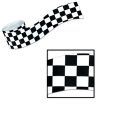 Racing Car Checkered Party Streamer (1 roll)
