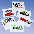 Racing Car Party Favor Tattoos ~12 pack