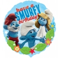 "Smurfs ""Have a Smurfy birthday"" Foil Balloon"