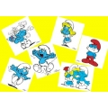 Smurf stickers 1 pack (6 stickers)