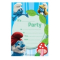 Smurf Invites Pack of 20