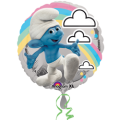 Smurfs Rainbow Foil Balloon