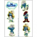 Smurf Tattoos 1 Sheet (6 tattoos) ~ SOLD OUT