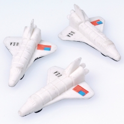 Space Mission Shuttle Erasers