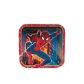 Spiderman Dessert Plates (8)